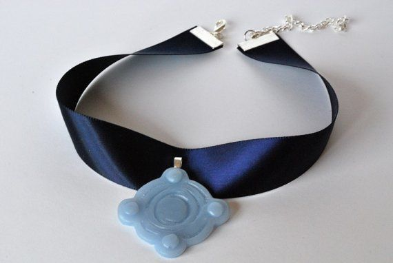 This is a replica of Princess Yues necklace from the show Avatar: The Last Airbender. It was hand sculpted to insure accuracy to the one seen in