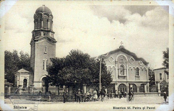 Plasa Ostrov. Orașul Silistra. Biserica Sf. Petru și Pavel. Basilica St. Peter and Pavel. 1936