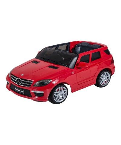 Aosom mercedes benz ml63 12v kids electric ride on car for Remote control mercedes benz