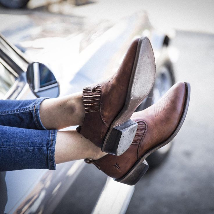 A must-have, designed with soft, supple leather: the Billy Shootie | The Frye Company