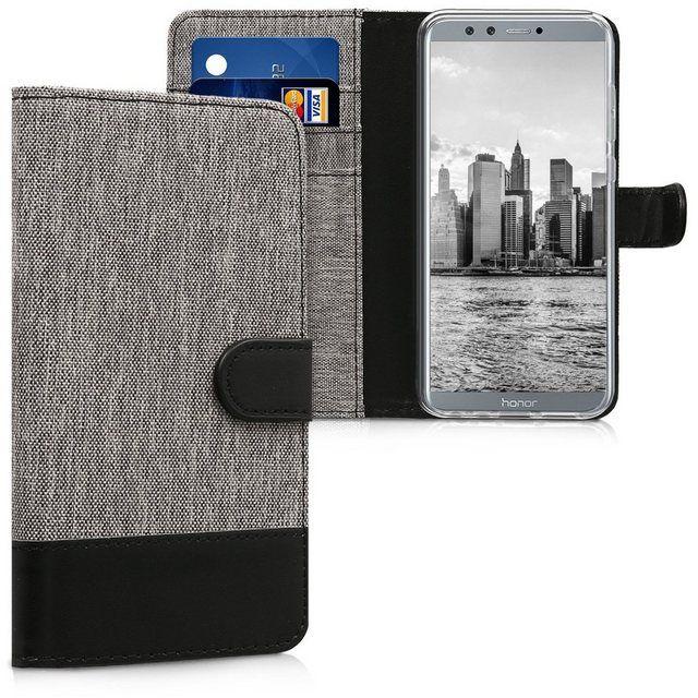 Handyhulle Hulle Fur Huawei Honor 9 Lite Kunstleder Handy Wallet Case Mit Kartenfachern Und Stand Products In 2019 Kunstleder Leder Und Kunst