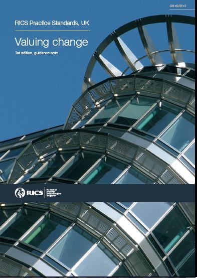 RICS guidance note, Part of the RICS QS and Construction Standards (Black Book): Valuing change £30.00