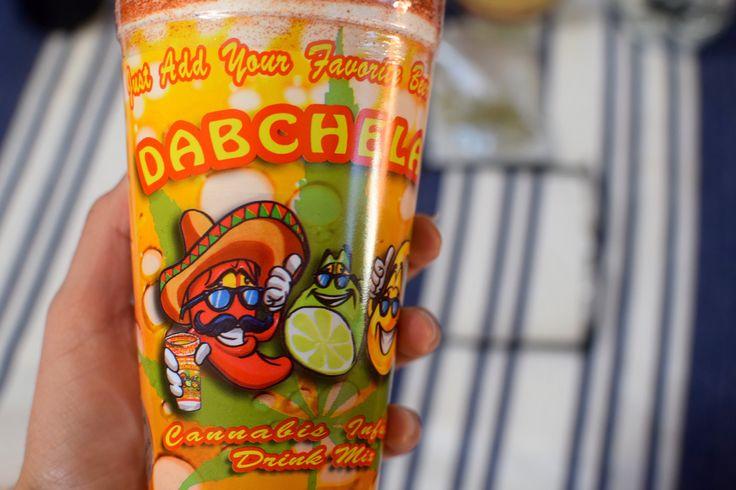 Dabchelada Michelada Chelada Medical Marijuana Cannabis Recipe with Modelo Bud Light Beer Drink  Mix