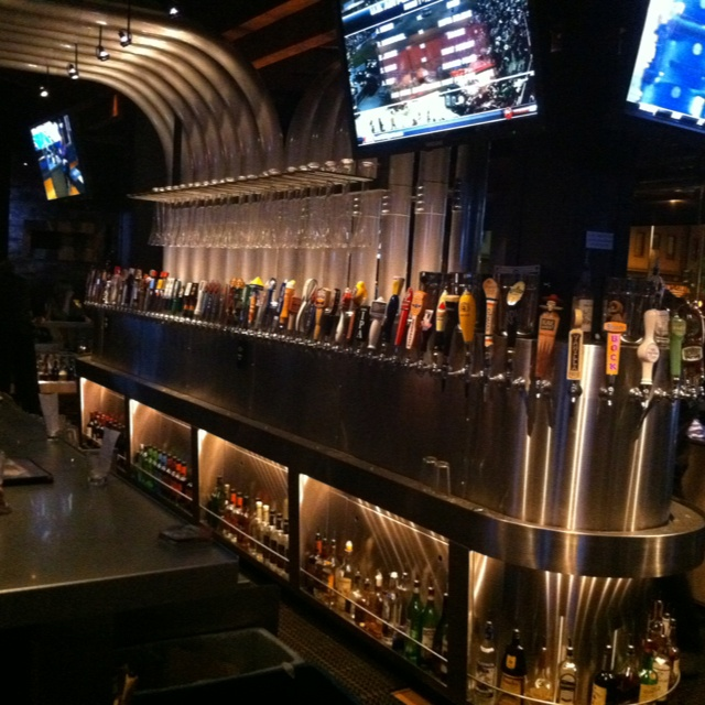 Yardhouse In Downtown Denver. 130 Taps With 100 Unique
