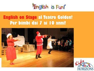 10 lezioni di inglese per bambini dai 7 ai 10 anni al Teatro Golden | Famideal.it