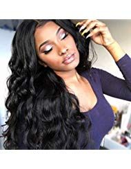 Human Hair Wigs for Women Full Lace Wig 100% Real Human Hair Lange Remy Echthaar…