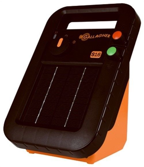 Gallagher G341414 S16 Solar Electric 30 Acre Fence Charger 0xbe7d5b7ea829 0x90c0a31739aa 0x5c82eeafb90 Fence Charger Solar Electric Fence Solar Electric