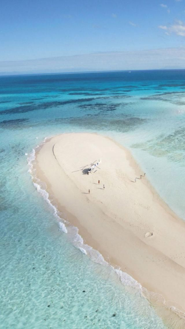 Solitary Sand Cay Spoil yourselves and escape to your own private tropical paradise. Nestled in the azure blue waters of the Coral Sea, surrounded by pristine coral reefs, relax in solitude on your own private Sand Cay. Palm Cove, Cairns, Queensland, Australia