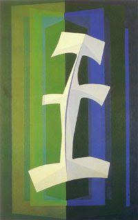 En la selva (1968) Emilio Pettoruti (Argentino 1892-1971)