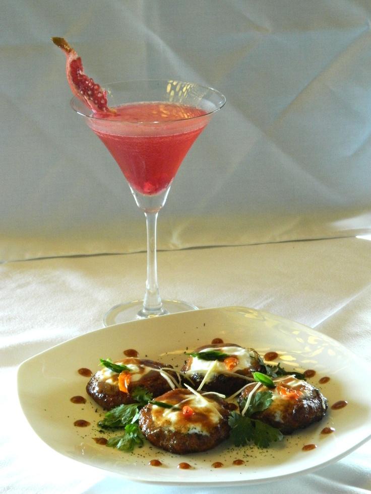 Paneer Dahi Kabab with Anarkali Cocktail