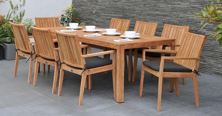 Buyers Guide to Reclaimed Teak Garden Furniture