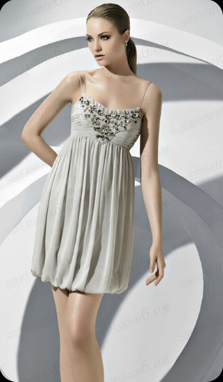 http://www.shefashion6.com  Item 2012SP0024  2012 Spaghetti Strap Mini Length Chiffon Party Dress; Real top fabric, competitive price!!!