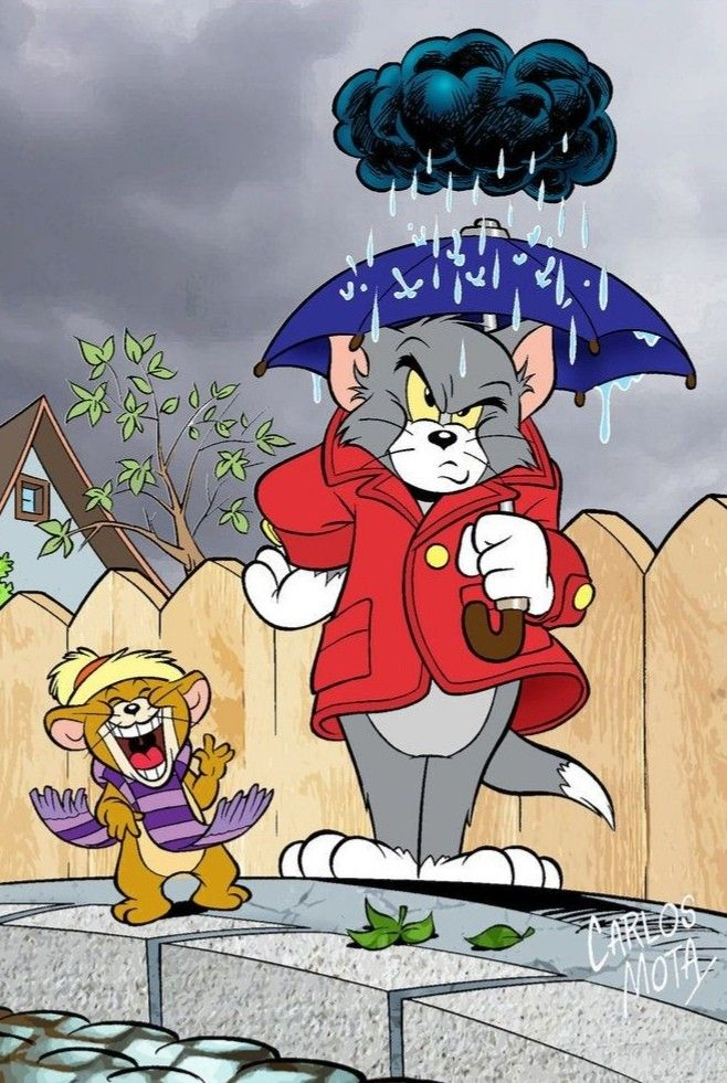 Tom And Jerry Best Hd Wallpaper For Mobile Tom Jerry Tom