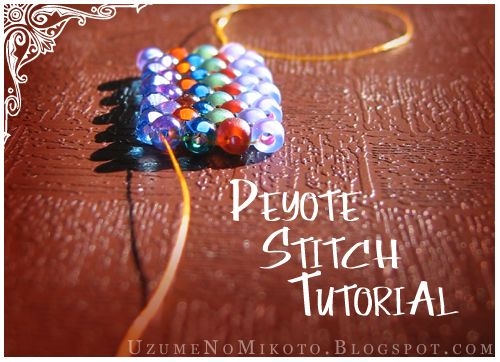Uzume's Crafty Goodness: Peyote Stitch Tutorial