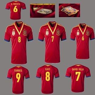 Spain Home soccer jerseys, T-Shirts, Spain football shirts http://www.fifafootballshirts.co.uk/spain-shirt