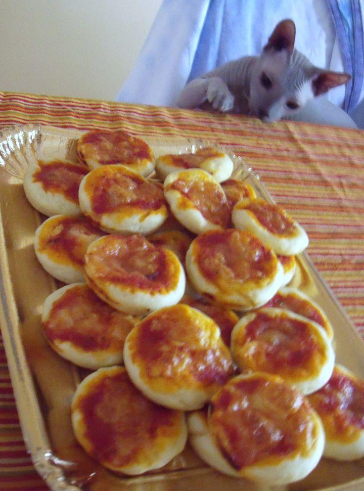 Ricetta PIZZETTE BIMBY (morbidissime anche il giorno dopo) pubblicata da Silvix2010 - Questa ricetta è nella categoria Prodotti da forno salati
