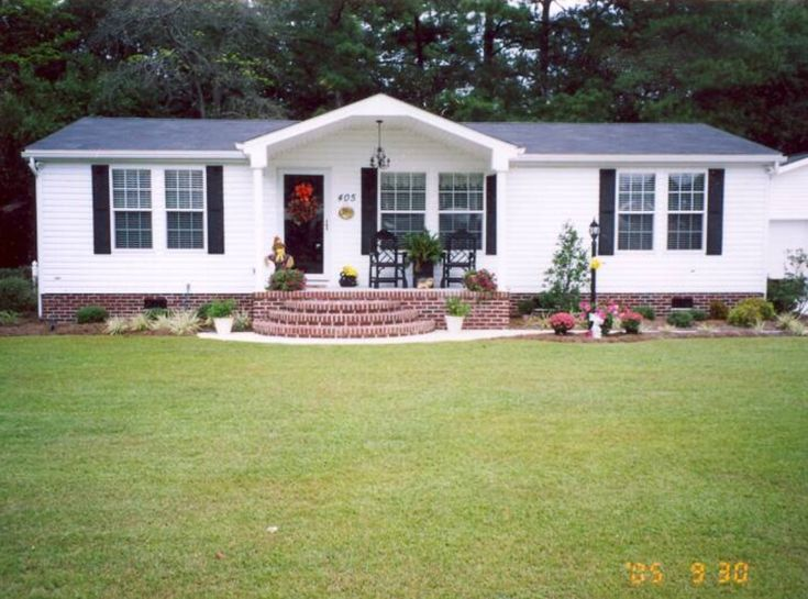 Landscaping Ideas Front Yard Mobile Hometa : Best ideas about mobile home landscaping on