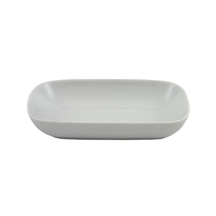 Rectangular Butter Pad - A contemporary way to display butter. A popular tabletop accessory for most events. Part of our general tableware range. Dishwasher safe.