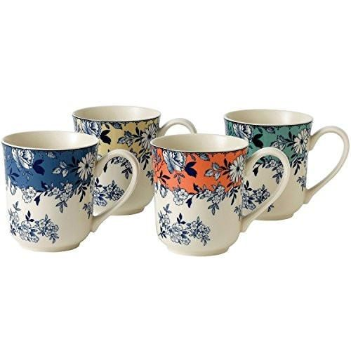 Johnson Brothers Stoneware Devon Cottage Floral Mugs, Set of Four – True Home Bliss