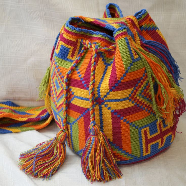 Wayuu Bag- ショルダーバッグ- Wayuu Sac a  main