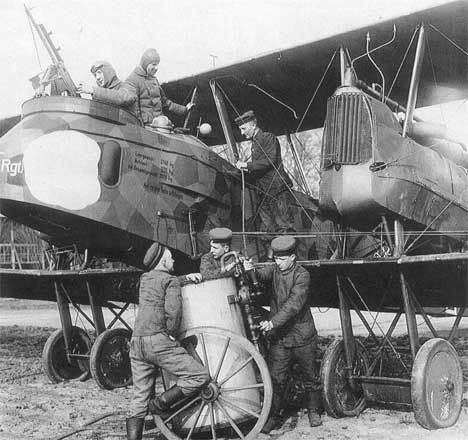 Gotha G.V - German WWI bomber. It may have been a bomber ...