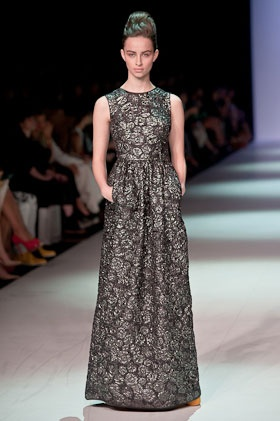 Alice reviews the bright and girly creations of Toni Maticevski at MBFWA - 2012. http://tinyurl.com/7nv9aac