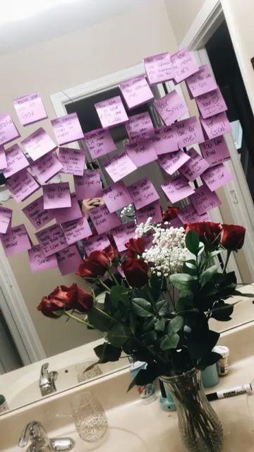 surprise from boyfriend