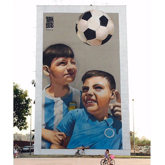 #rosk #loste #ceres #inward #bigwall #napoli #ponticelli #streetart #streetartist #graffiti #graffitiart #graffitiporn #spraypaint #football #calcio #chiamanondimentica