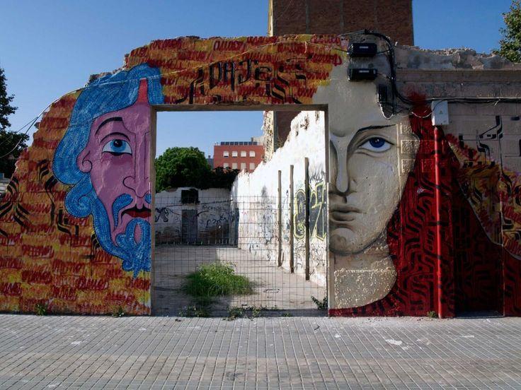 Omino 71 + Mr. Klevra - Italian Street Artists - Barcelona (E) - 11/2014 - |\*/| #omino71 #mrlevra #streetart