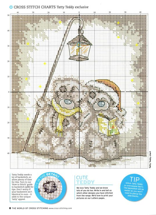 Gallery.ru / Фото #6 - The world of cross stitching 092 декабрь 2004 - tymannost