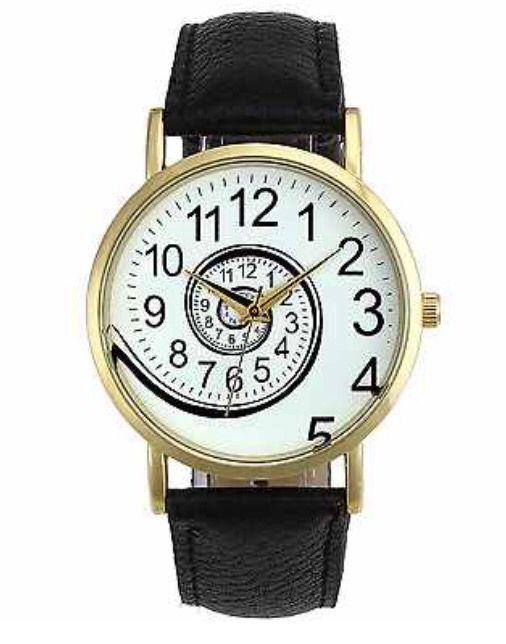 Black Faux Leather Strap - Swirl Face - Women's Watch #fauxleather #leather #swirl #wristwatch #wrist #watch #women #womensfashion http://m.ebay.co.uk/itm/Turquoise-Black-Faux-Leather-Strap-Quirky-Swirl-Women-Wrist-Watch-Xmas-Ladies-/282079098350?nav=SELLING_ACTIVE&skus=Strap%20Colour:Black&varId=581028899068&var=581028899068