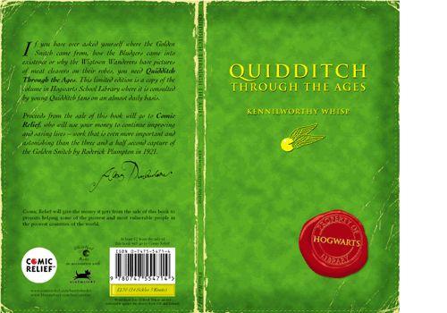 Harry Potter Schoolbook  Quidditch Through the Ages  Design & illustration - www.elhorno.co.uk