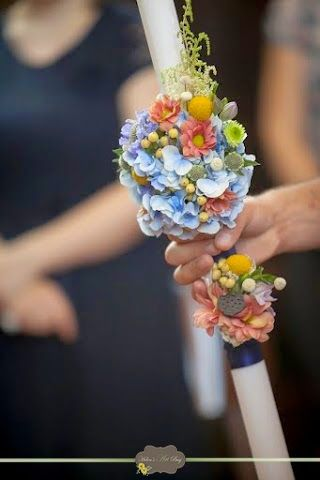 Lumanare botez - Helen's Art Bag: Botez Călin