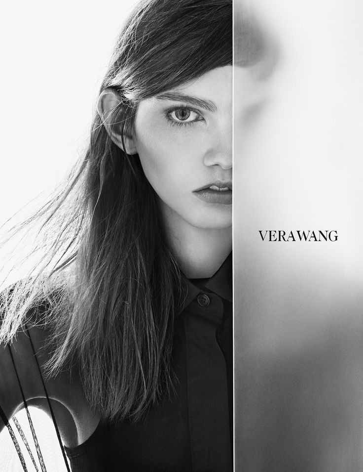 Ad Campaign: Vera Wang Spring/Summer 2016: Molly Blair by Patrick Demarchelier