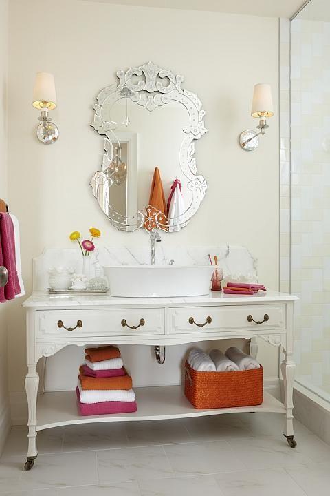 sarah richardson sarah house 4 girl bath pink orange