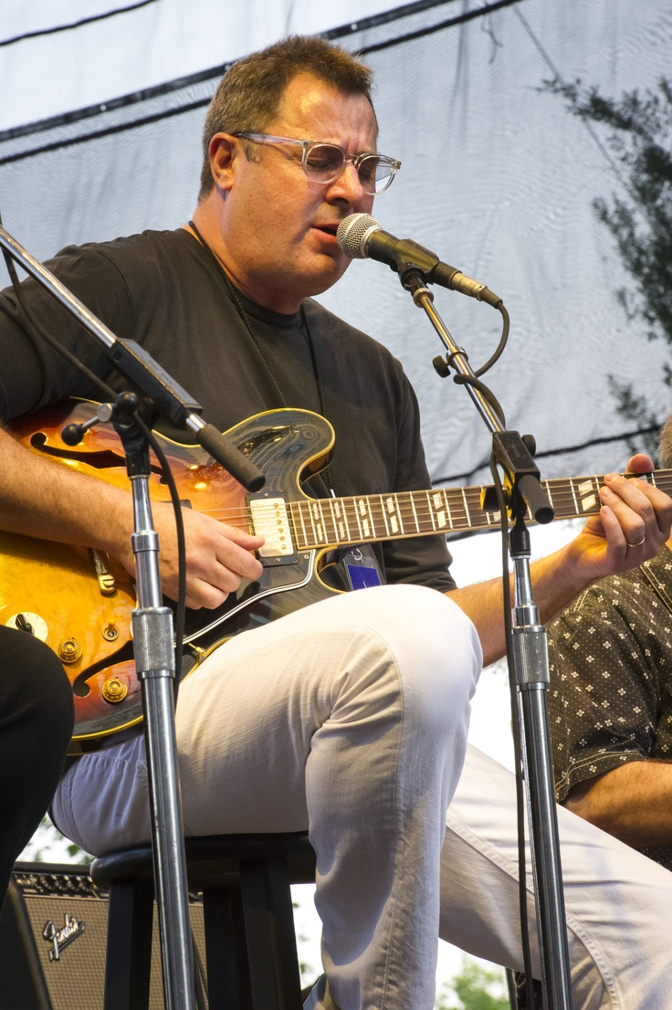 The Time Jumpers, featuring Vince Gill, performed at the Music City Center grand-opening celebrations