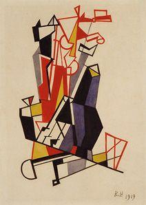 Raoul Hausmann.  Untitled, 1919