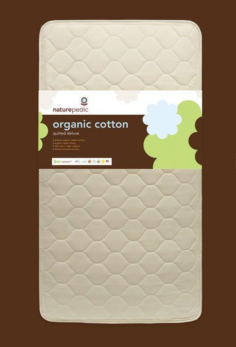 Certified Organic 2-in-1 Baby & Toddler Crib Mattress