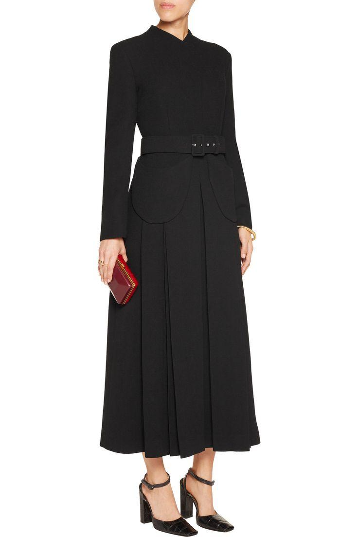 Juliana belted bouclé-wool midi dress | UK | THE OUTNET