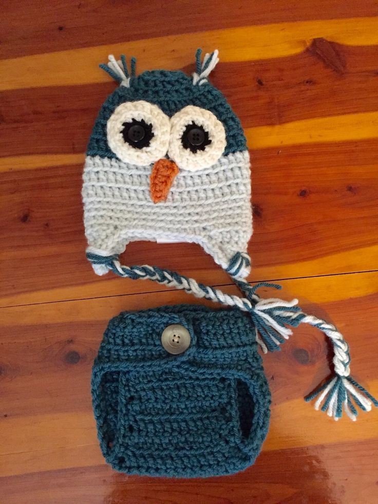 A personal favorite from my Etsy shop https://www.etsy.com/listing/250857893/crochet-newborn-owl-hat-with-matching