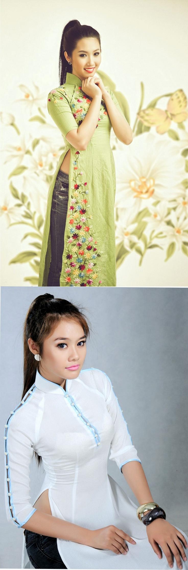 Вьетнамки очень креативны и иногда носят традиционные платья ао зай с джинсами. Выглядит невероятно стильно и со вкусом! Недаром нынче немало фешн блоггеров вьетнамского происхождения. О них мы тоже обязательно расскажем.