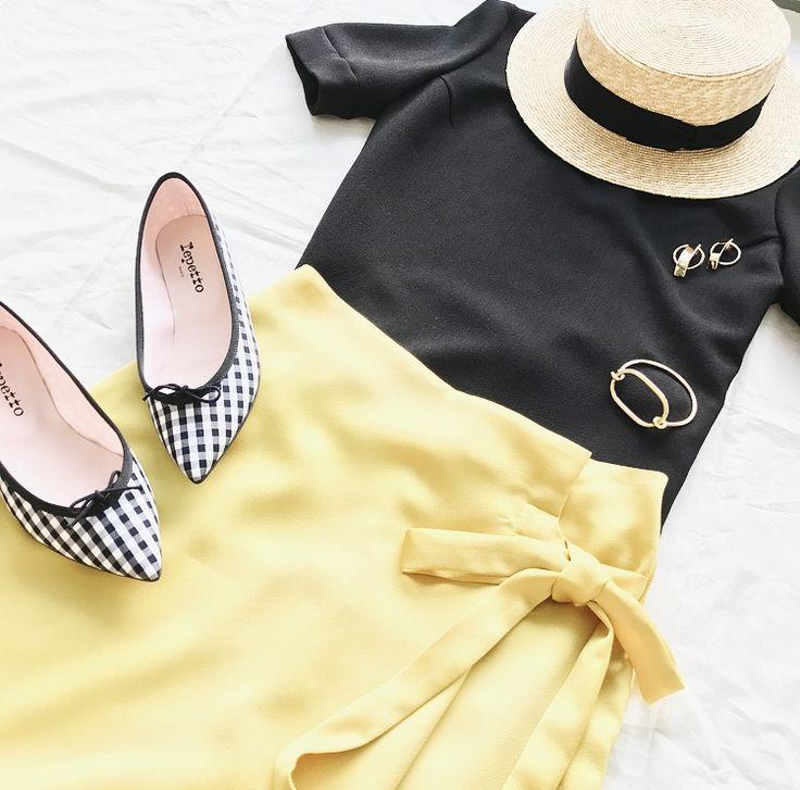 店舗限定サテンカラーラップスカートのご紹介★ | IENA 公式ブログ