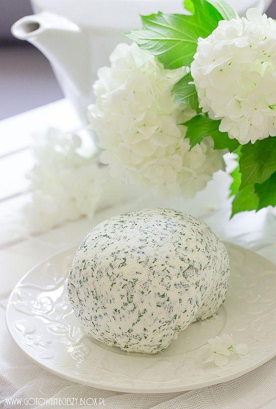 Kremowy serek ziołowy z jogurtu greckiego (jak Almette)