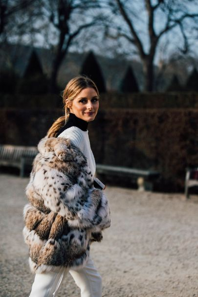Olivia Palermo | Paris Couture Week Street Style | British Vogue