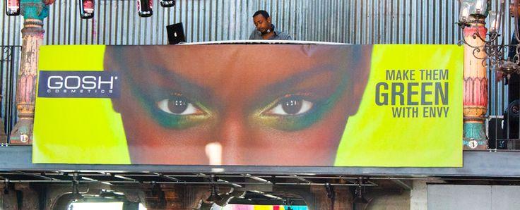 Complete Disbelief, GOSH SA Cosmetics, launch, Edgars, Red Square