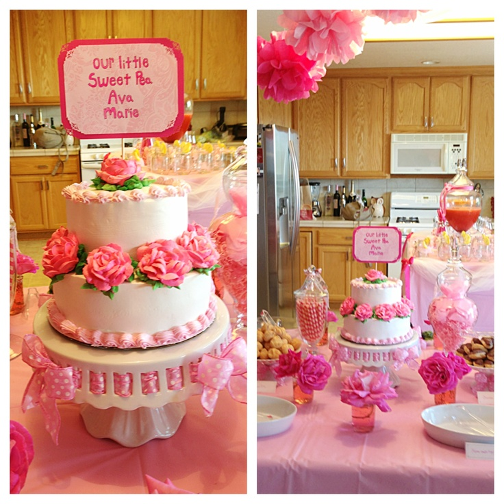 Baby Shower Themes For Girls Pinterest: Baby Shower For Bestest