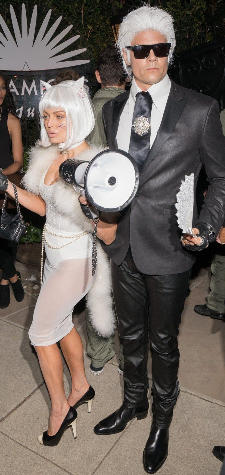 Pin for Later: Fashion Girls Would Call Fergie and Josh Duhamel Best Dressed Couple This Halloween
