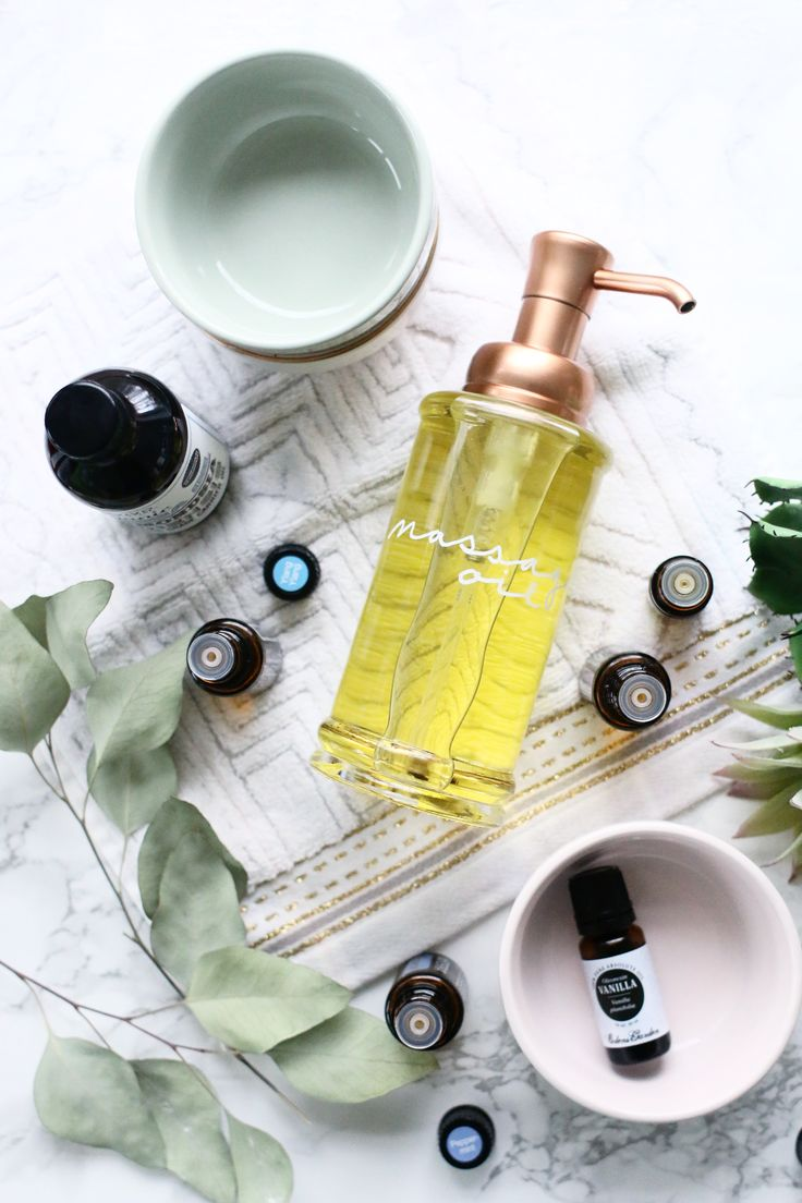 Make Your Own Relaxing Massage Oil! | A Beautiful Mess | Bloglovin'