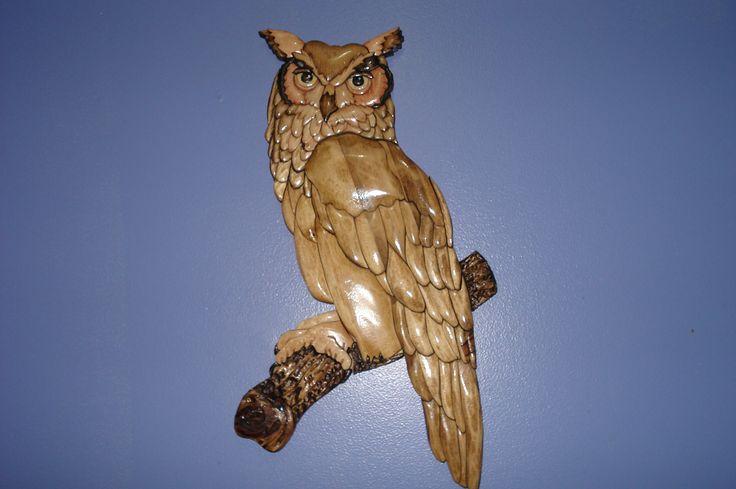 Great Horned Owl Kathy Wise Pattern Design Birds