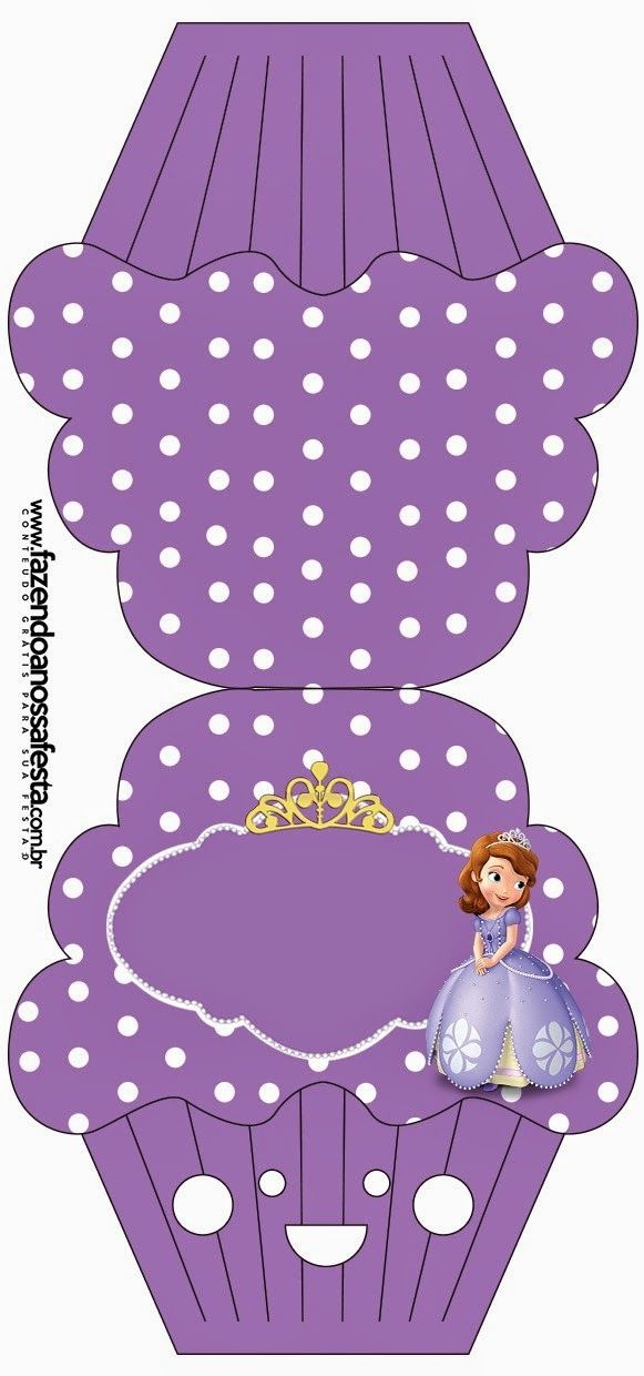 Sofia the First Free Printable Invitations.   Oh My Fiesta! in english
